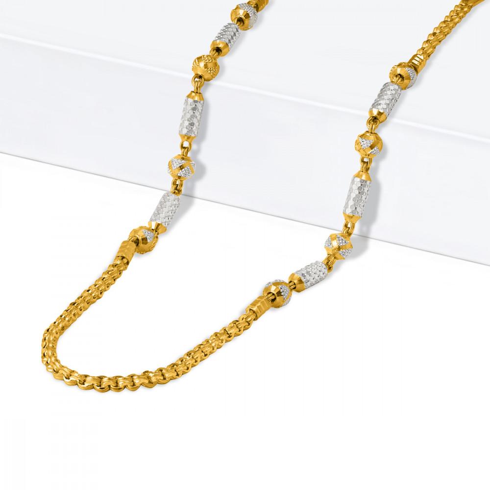 22ct Gold Fancy Chain 33636-1