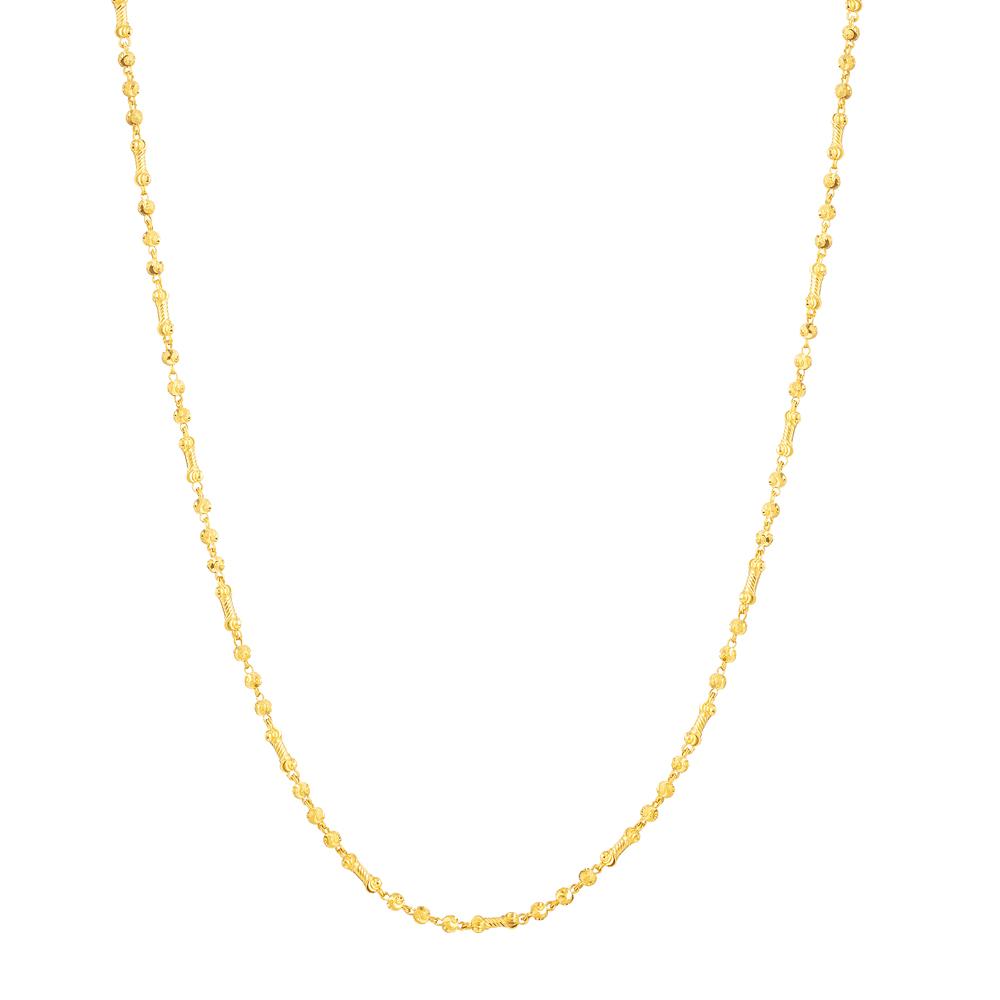 22ct Gold Choker Chain 33671-1