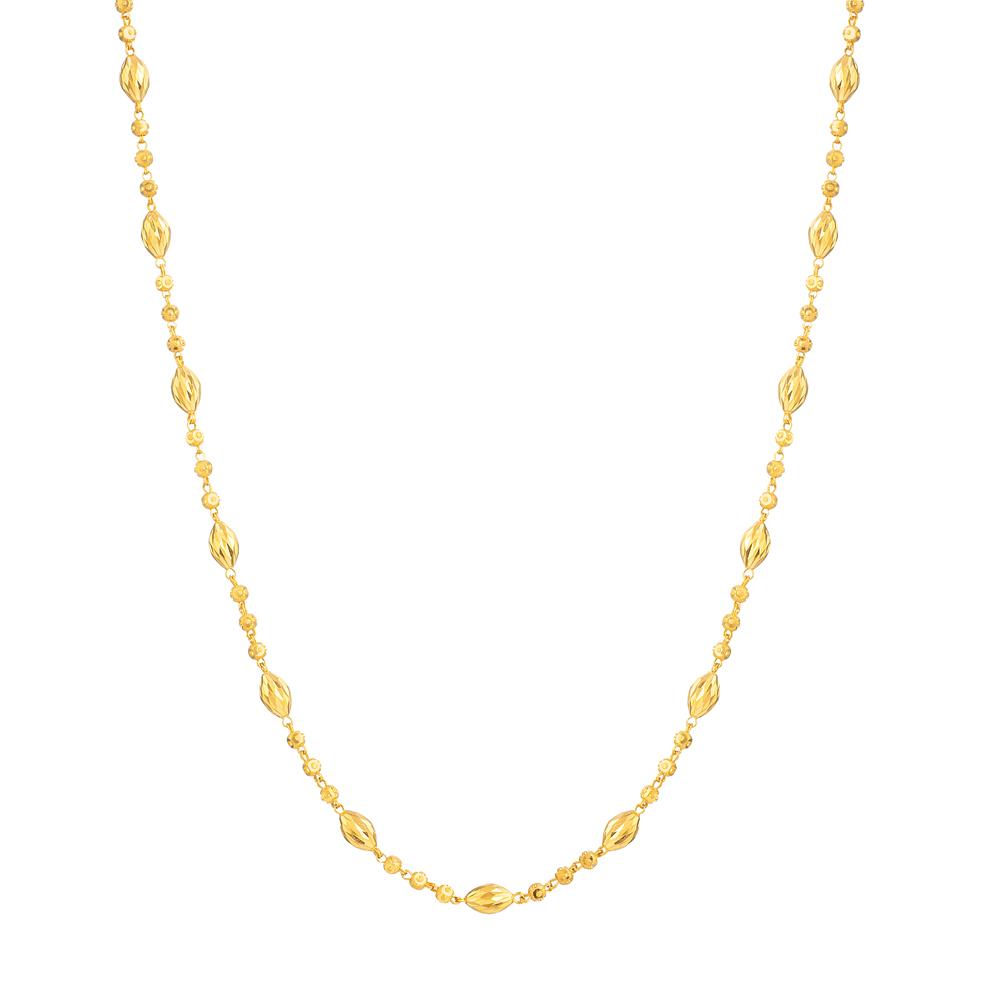 22ct Gold Choker 33673-1
