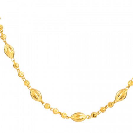 22ct Gold Choker 33673-2