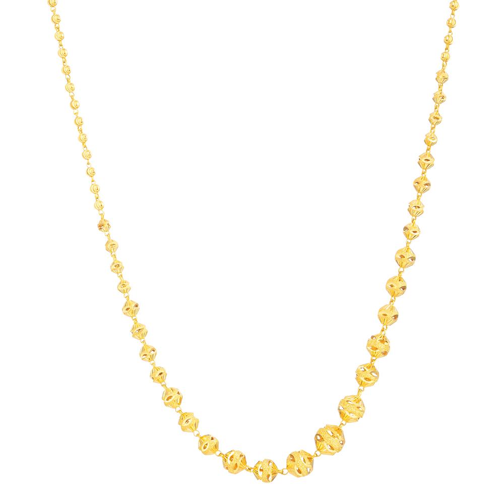 22ct Gold Choker Chain 33674-1