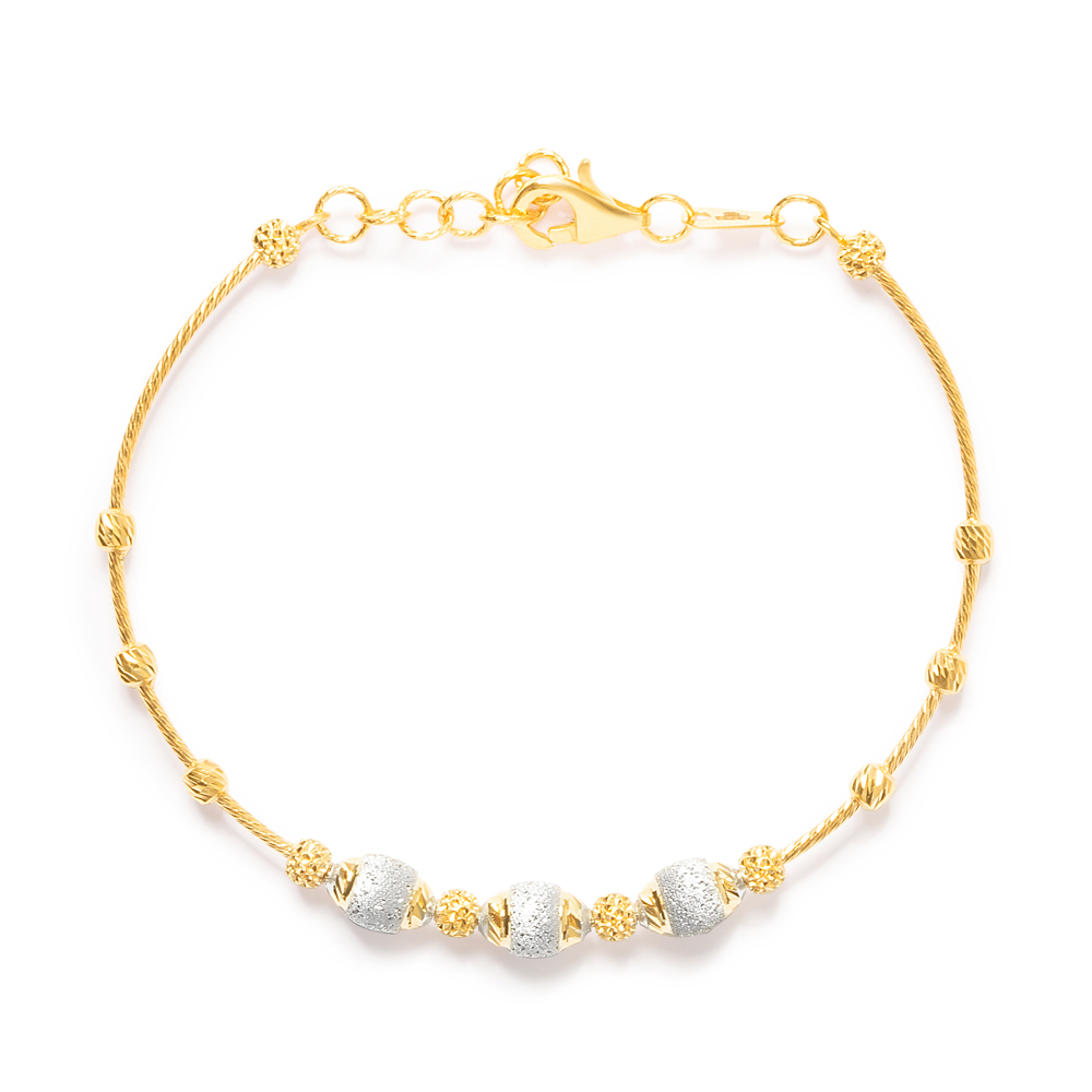 22ct Gold Bracelet 33687-2