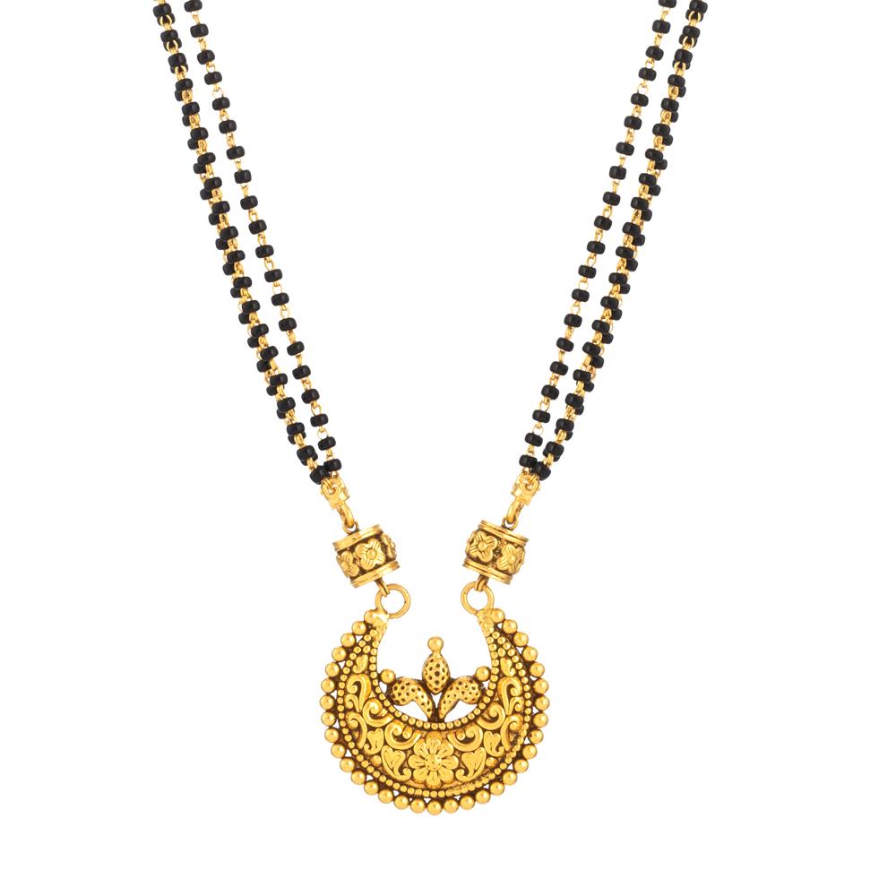 22ct Gold Mangalsutra 33716-2