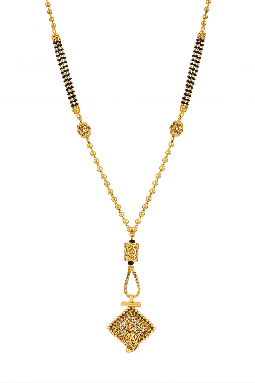 22ct Gold Mangalsutra 33717-1