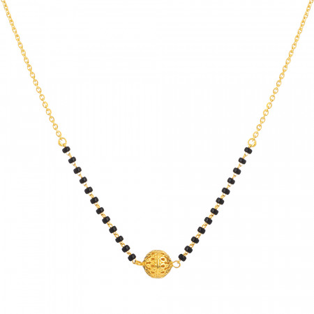 22ct Gold Mangalsutra 18 Inches