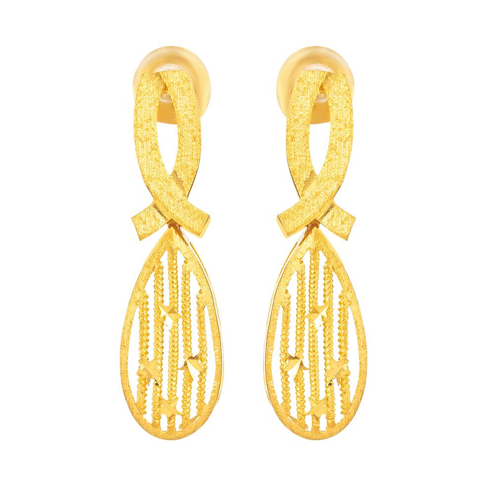 22ct Gold Drop Earrings