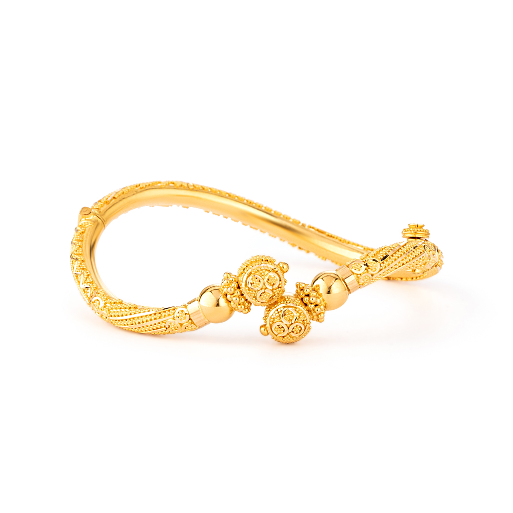 22ct Gold Jali Bangle