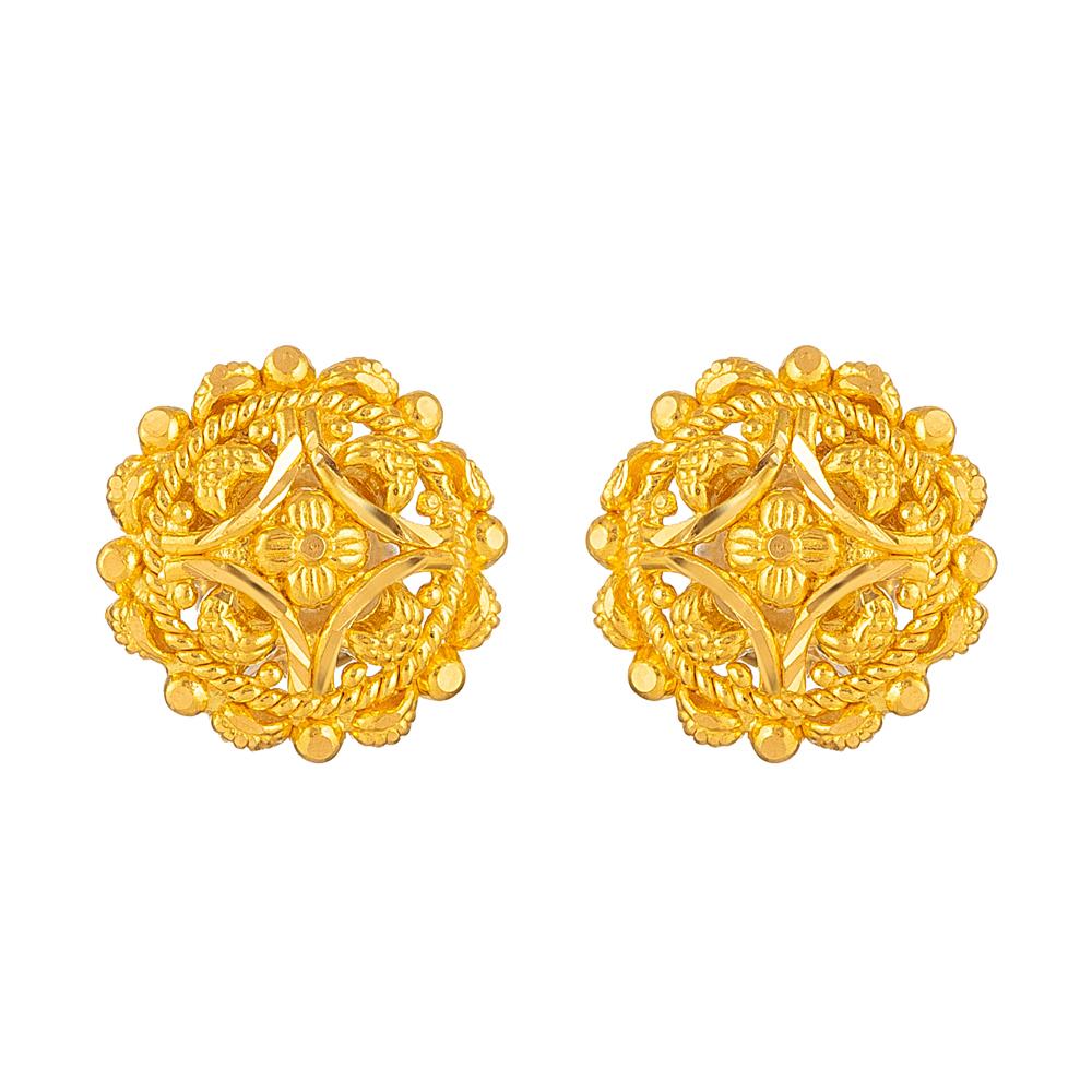 22ct Gold Stud 33841