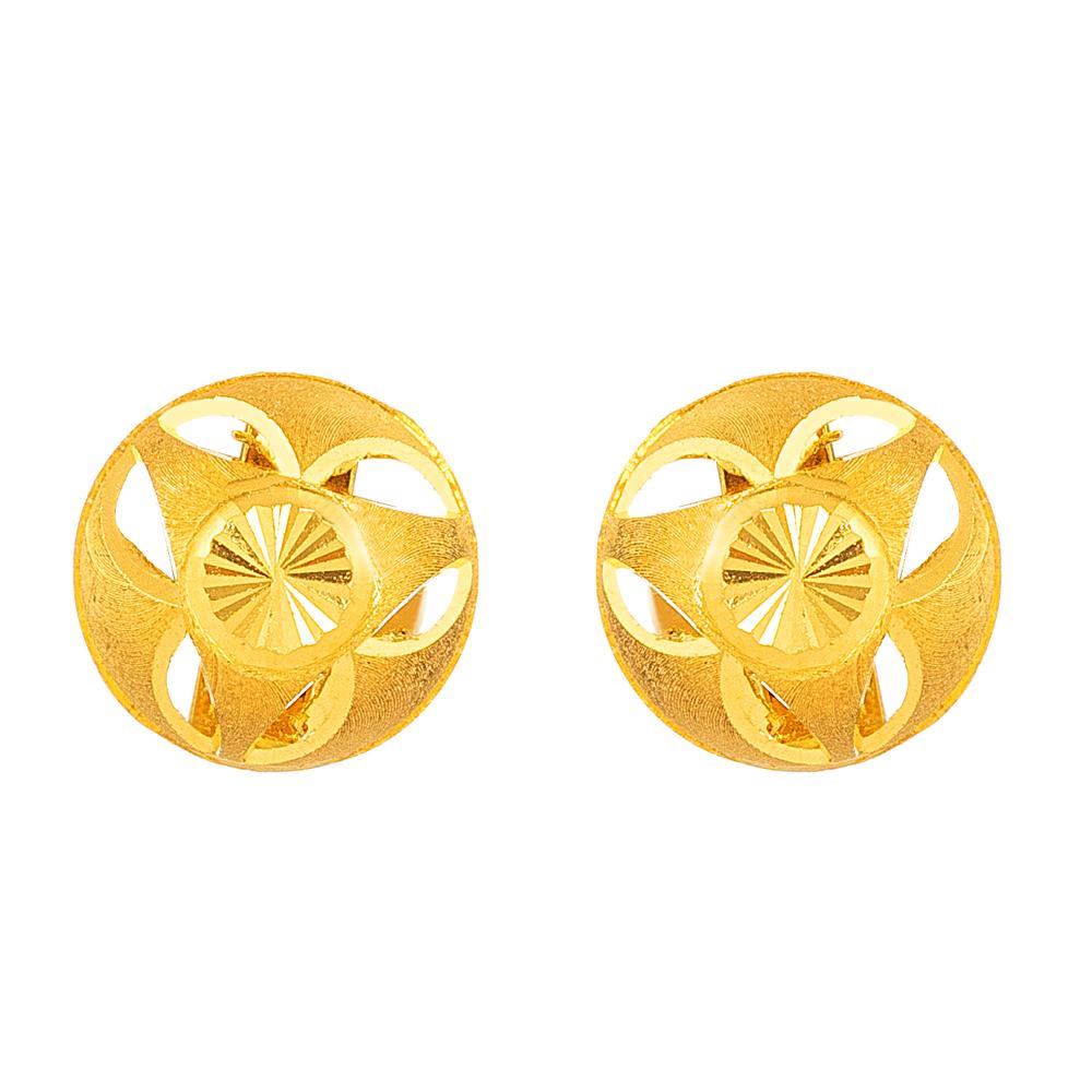 22ct Gold Stud 33842