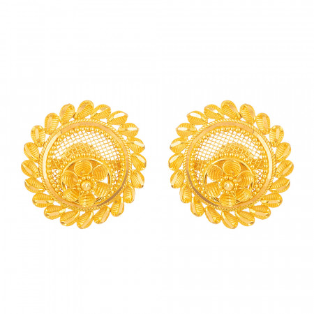 22 Carat Gold Filigree Earring – 28687