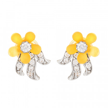 22ct Gold Earring with CZ Stones – 28791