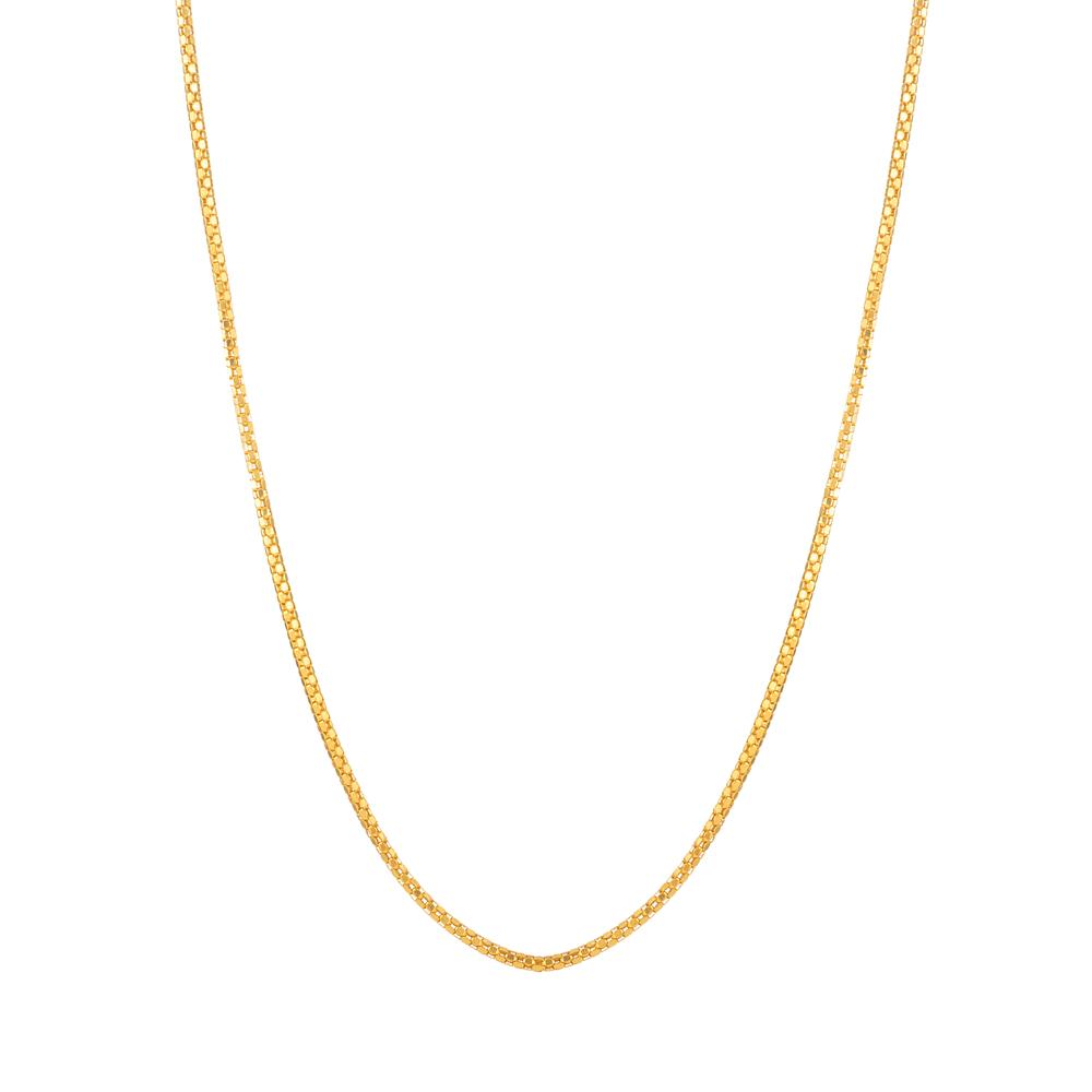 22ct Gold Box Chain -33632-1