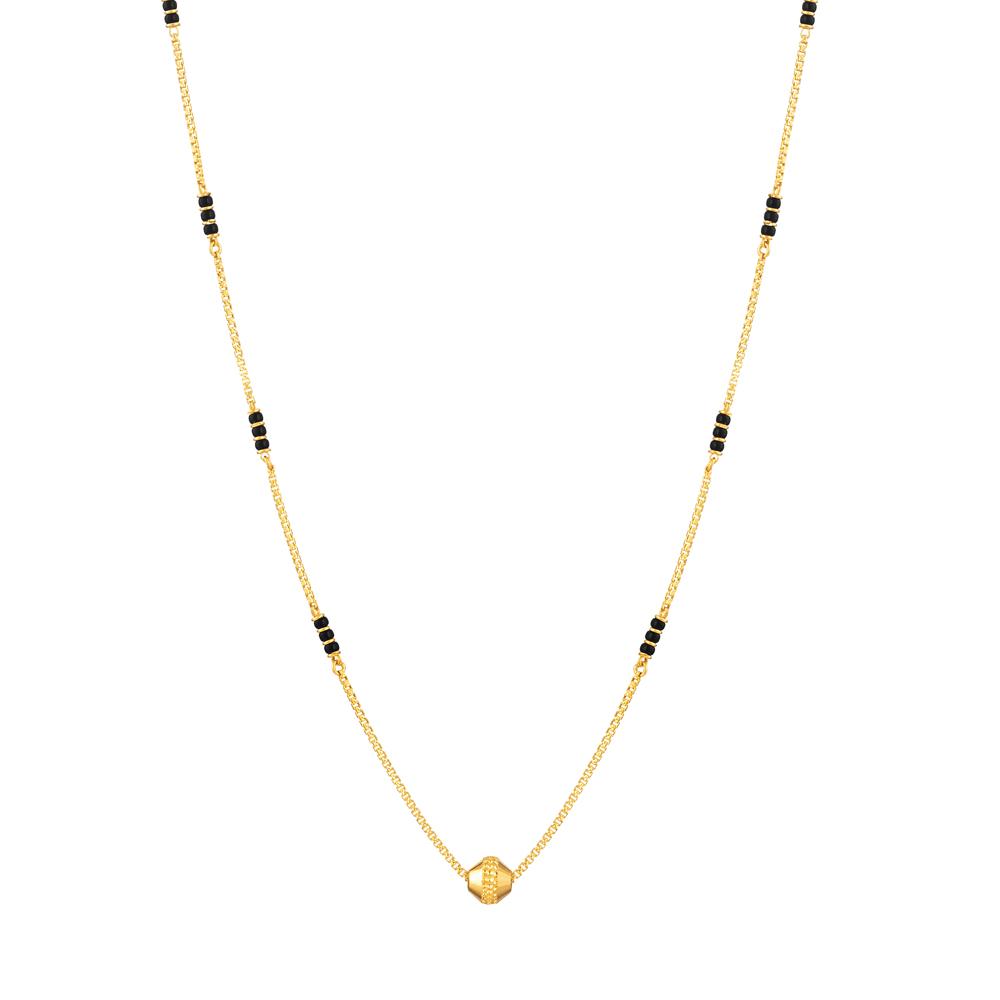22ct Gold Mangalsutra - 33725