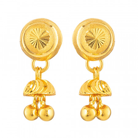22ct Gold Earring – 33817
