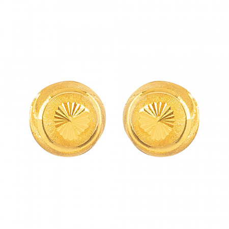 22ct Gold Earring - 33817