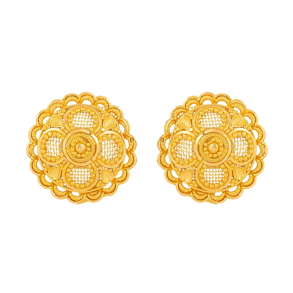 22 carat Gold Earring - 33827