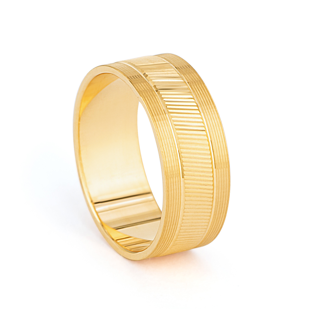 22ct Gold Band 33847-1