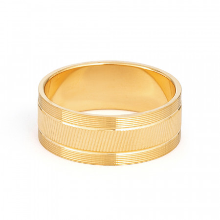 22ct Gold Band 33847-2