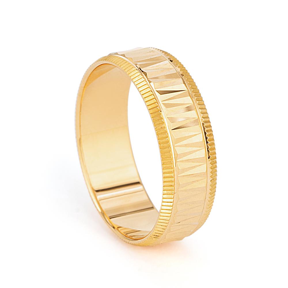 22ct Gold Wedding Band 33850-1