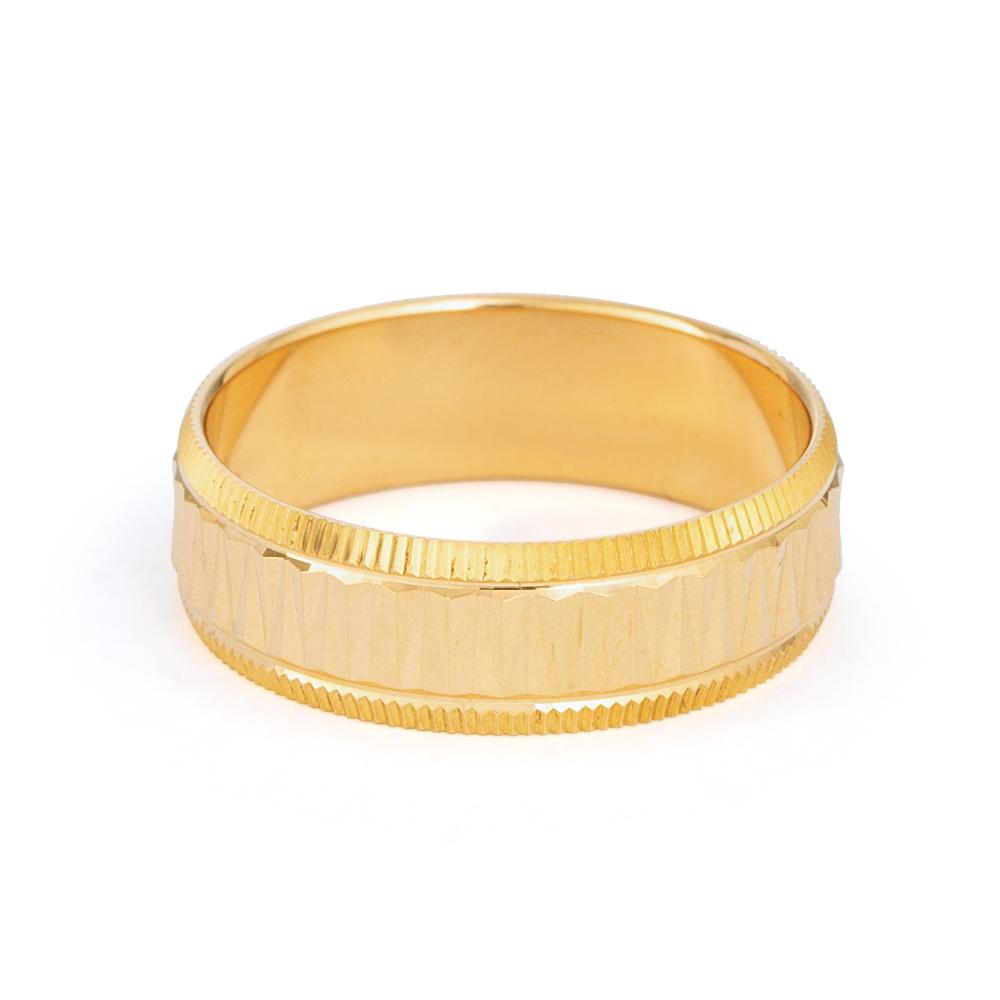 22ct Gold Wedding Band 33850-2