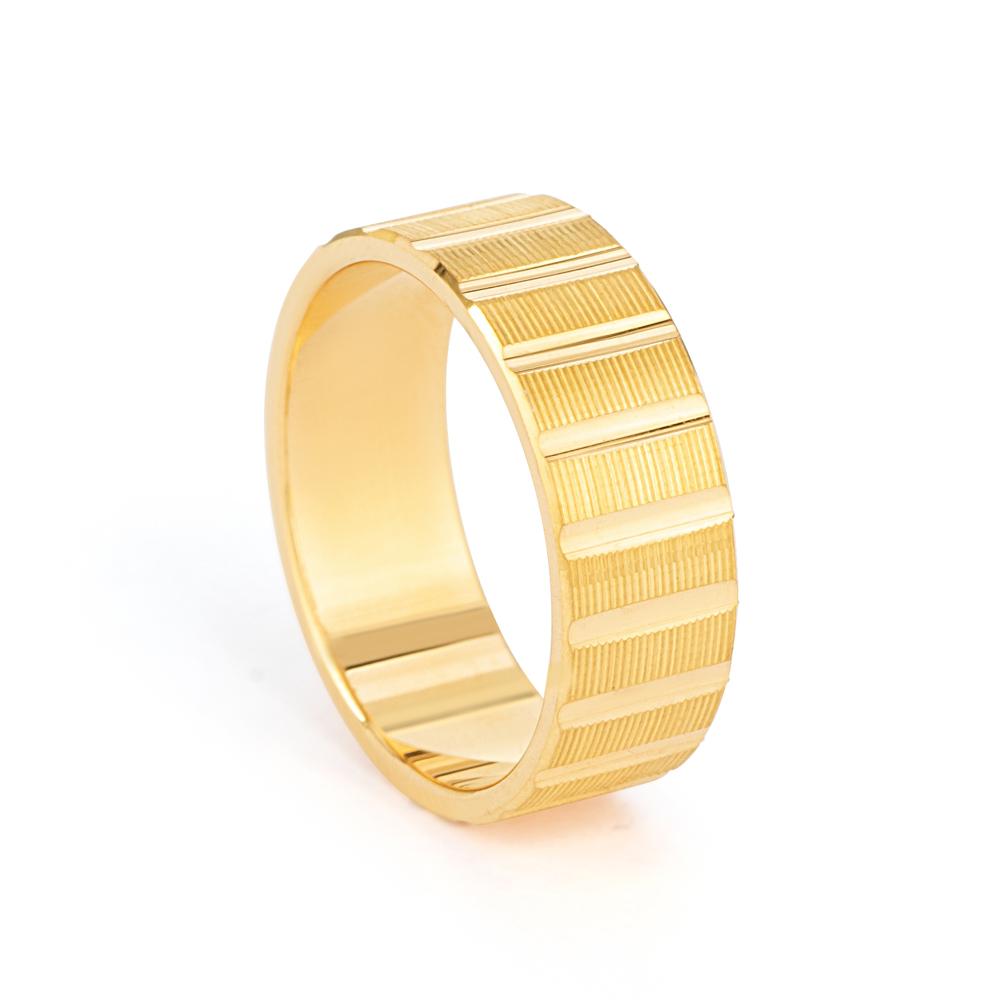 Gold Wedding Ring 33853-1