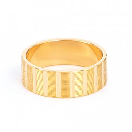 Gold Wedding Ring 33853-2