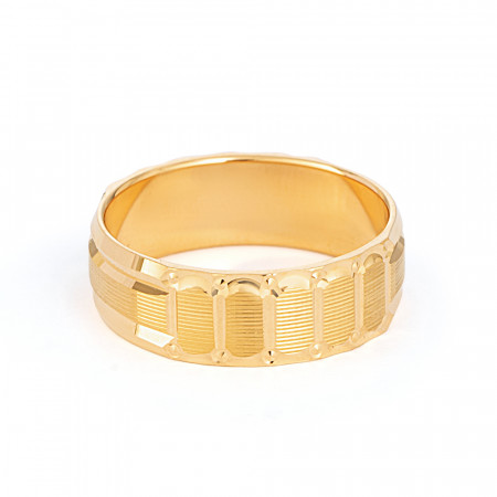 22ct Gold wedding Ring Band - 33855-2