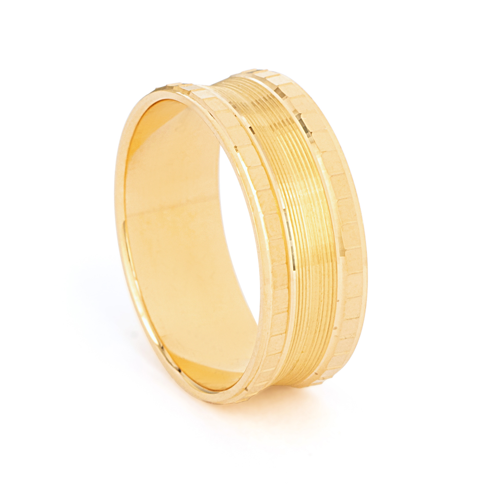22ct Yellow Gold Wedding Band -33856-1