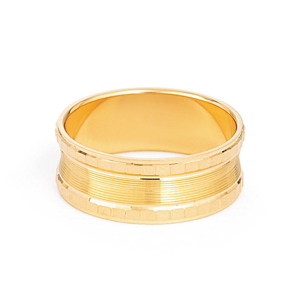 22ct Yellow Gold Wedding Band -33856-2