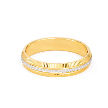 22ct Yellow Gold Women's Wedding Band - 33857-2