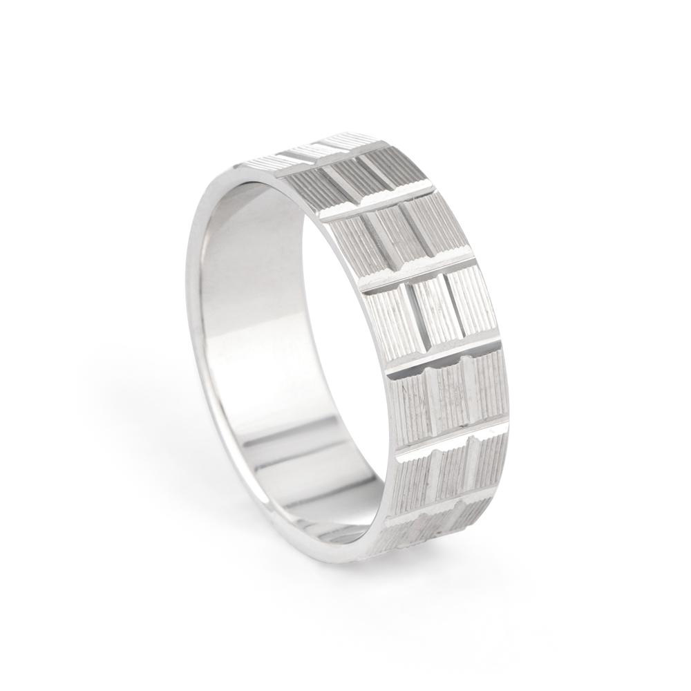 Platinum Wedding Band-33858-1
