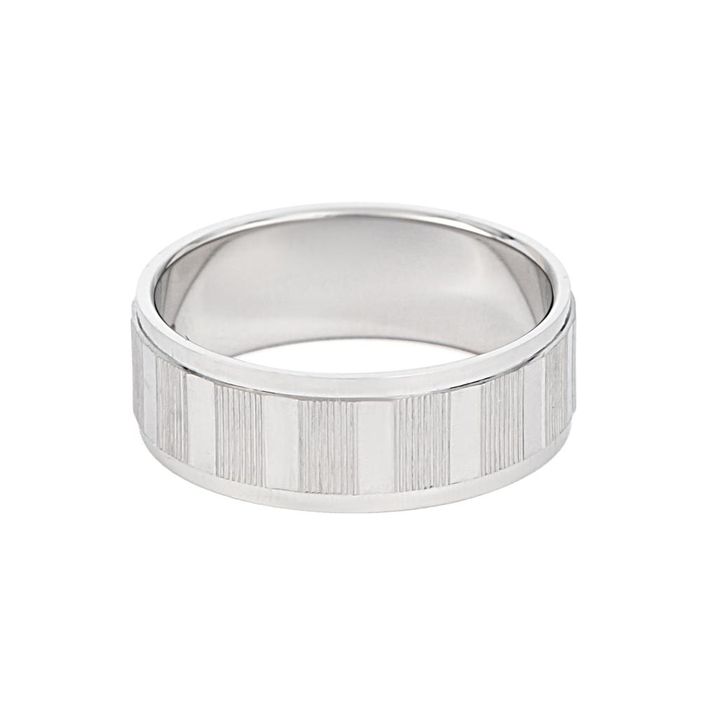 Men's Platinum Wedding Band UK - 33859-2