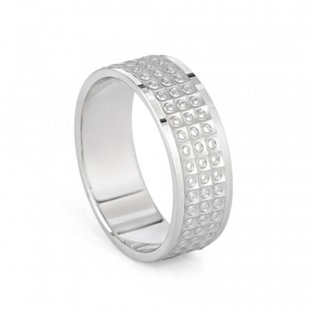 Men's Platinum Wedding Band – 33860-1