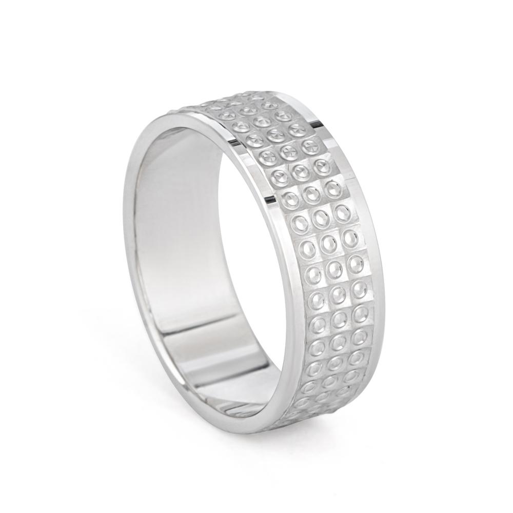 Men's Platinum Wedding Band - 33860-1