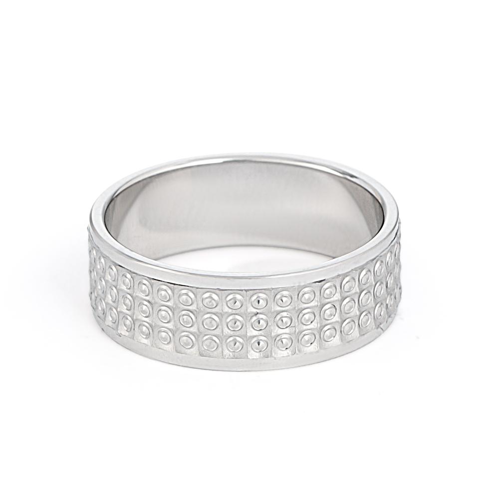 Men's Platinum Wedding Band - 33860-2