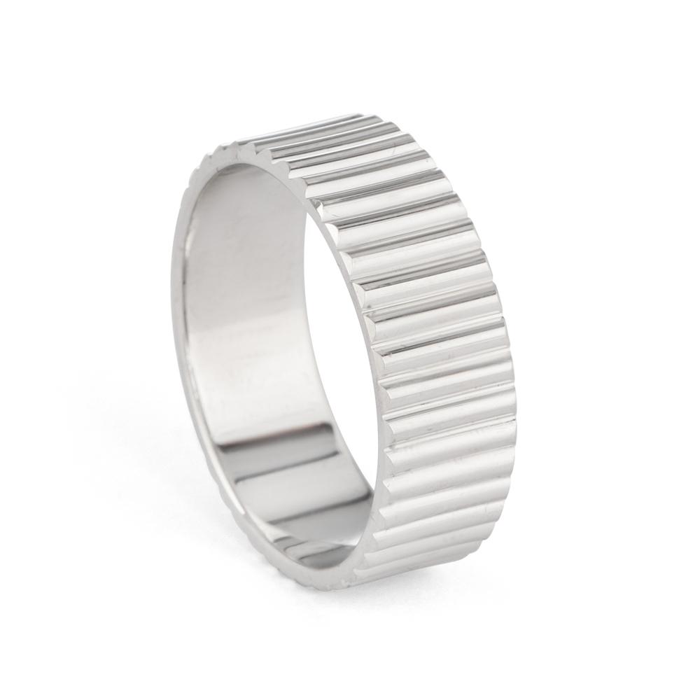 Men's Platinum Wedding Band - 33861 -1
