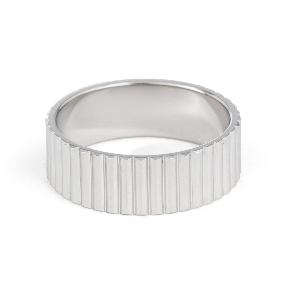 Men's Platinum Wedding Band - 33861 -2