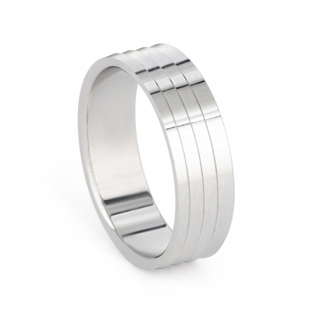 Platinum Wedding Band – 33863-1