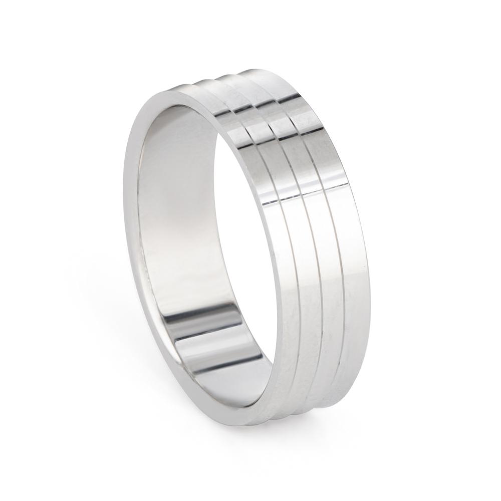 Platinum Wedding Band - 33863-1