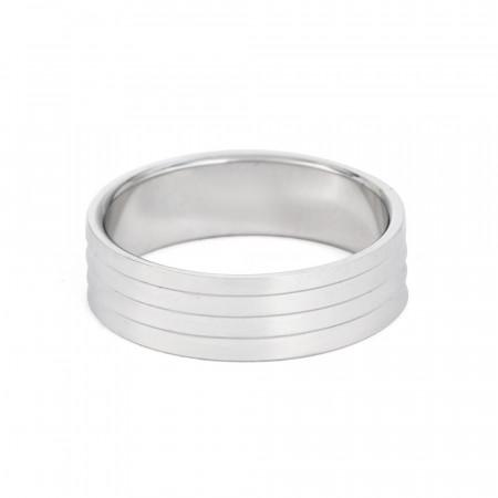Platinum Wedding Band - 33863-2
