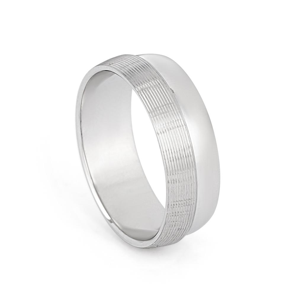 Platinum wedding Band 33864-1