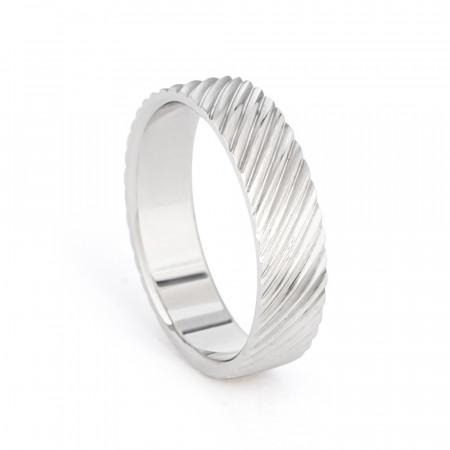Men's Platinum Wedding Band Ring UK – 33868-1