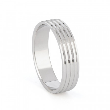 Platinum Wedding Band for Men- 33871-1