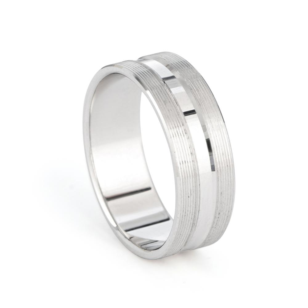 Platinum Wedding Band -33872-1