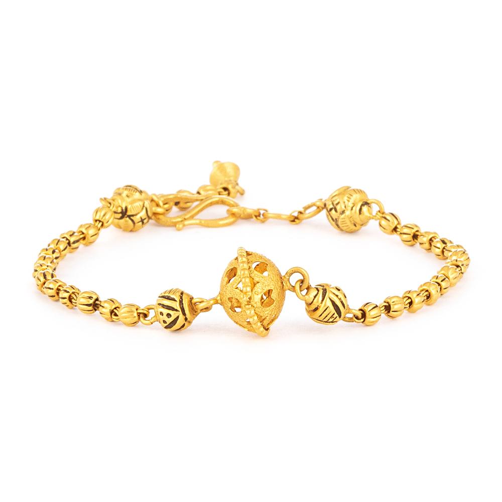 Gold Bracelet for Women - 33960