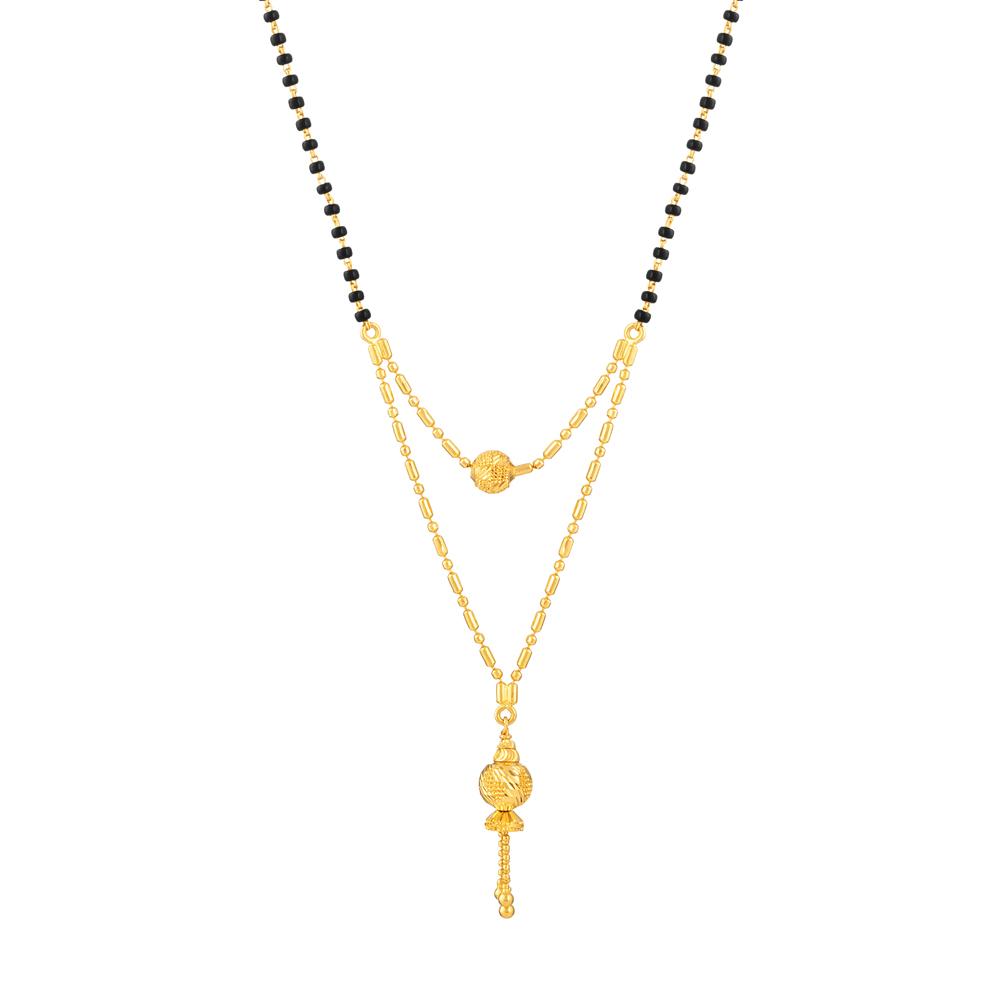 22 carat Asian Gold Mangalsutra - 33972