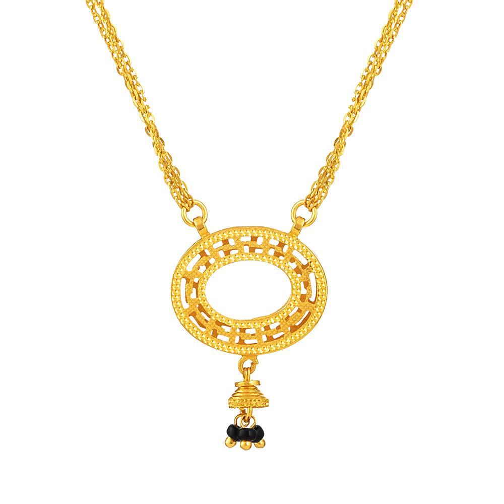 22ct Gold Mangalsutra UK - 33974