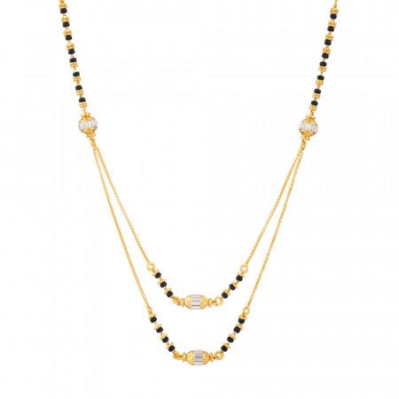22ct Gold Mangalsutra – 33975