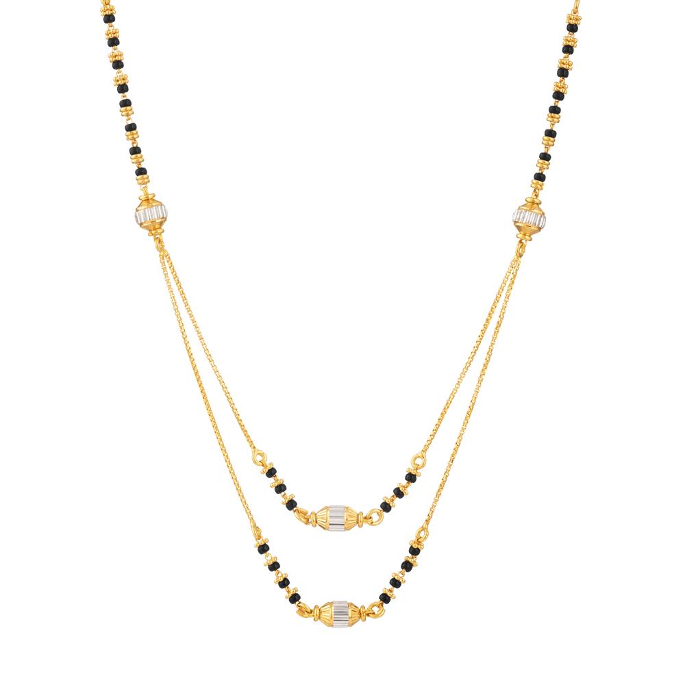 22ct Gold Mangalsutra - 33975