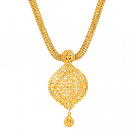 22ct Gold Filigree Necklace – 33986